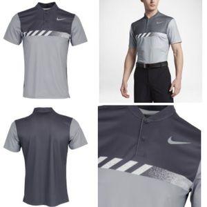 Nike MM Fly Framing Block Golf Polo 👕 Shirt Sz S